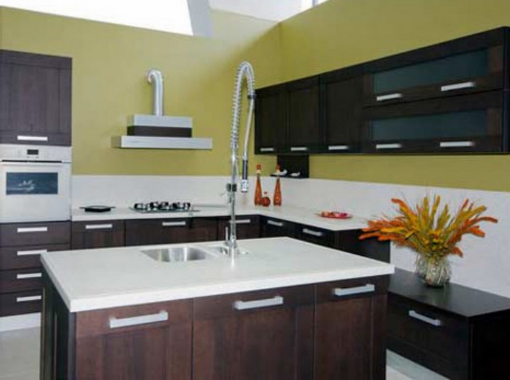 the modern kitchen details